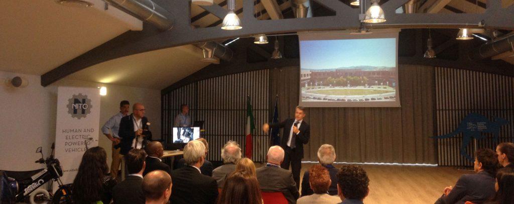 NITO si presenta ai delegati esperti internazionali dell'Innovazione