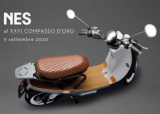 The NES, selected by ADI Design, nominated for the XXVI Compasso d'Oro